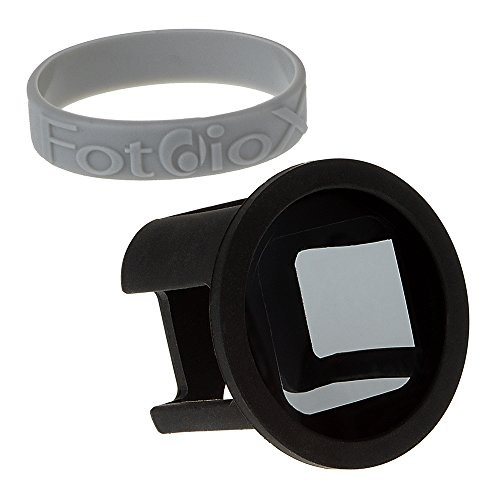 Fotodiox GoTough Silicone Mount with Neutral Density 0.6 (ND4, 2-Stop) Filter for GoPro Hero & HERO5 Session Camera, Black (GT-H5S-ND4)