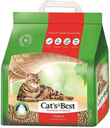 Cats Best, Arena para gatos Cat s Best Eco Plus, 1x 2.1 kg ...