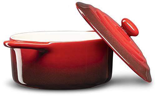 12oz Mini Cocotte Ceramic Make Casserole Dish by Kook