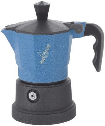 Top Moka Cafetera top01 Azul-Negro: Amazon.es: Hogar