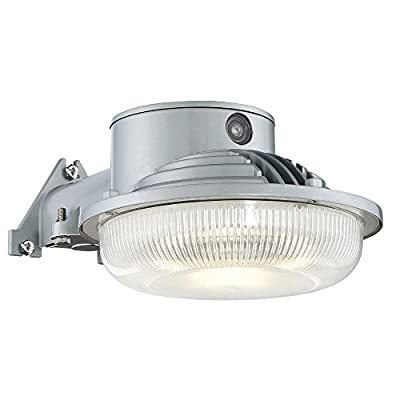 Designers Fountain AS3019D40-27 Modern Led Dusk To Dawn single-head Grey Outdoor Flood Light