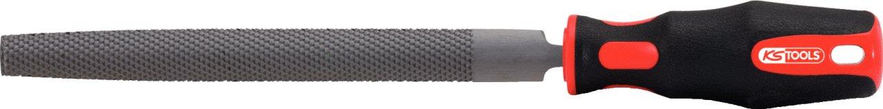 250mm form E KS Tools 157.0116  Halfround file cut3