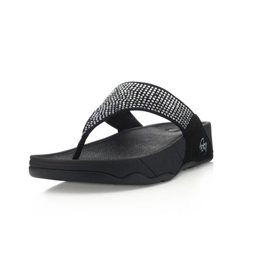 FitFlop Svarovski- Sandalias para mujer (Black) Varios colores, talla 42