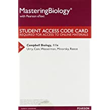 Mastering Biology with Pearson eText - Standalone Access Card - for Campbell Biology (11th Edition)