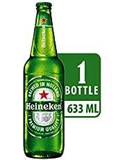 Heineken Lager Beer Quart Bottle, 633ml