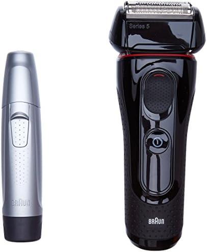 Braun Afeitadora Series 5 5030s (Recortadora nariz/orejas: Amazon ...