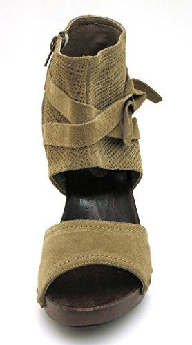 Isabelle Ankle-Strap Sandal Summer Leather Beige Shoes Summer Shoes weYxSpdm