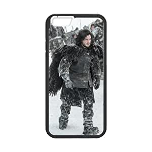 NADIA Onshop Custom Jon Snow In The Snow Land Phone Case Laser Technology for iPhone 6 4.7 Inch