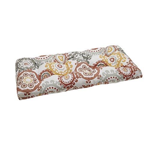 Laguna Outdoor Pillow (Laguna Medallion 3M Scotchgard Outdoor Bench Cushion Coral)