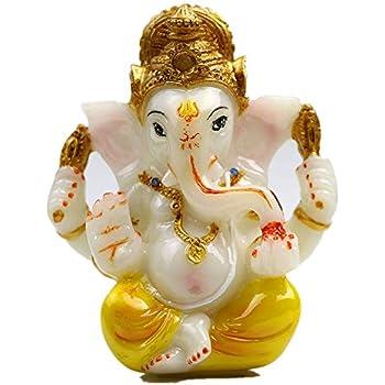 f0cedc84e5c79 Hindu God Lord Ganesha Idol Statue for Car Dashboard 3.5