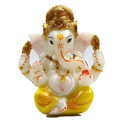 (Hindu God Lord Ganesha Idol Statue for Car Dashboard 3.5