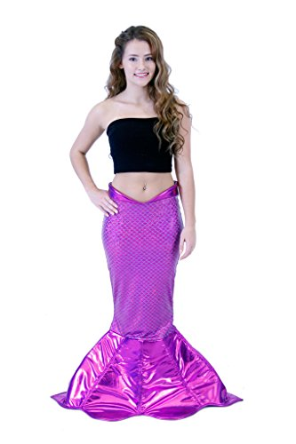 Magical Mermaid Purple Sparkle Tail Deluxe Costume (XXL) -