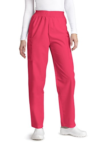 Adar Universal Natural Rise Comfort 4 Pkt Cargo Utility Tapered Leg Pants   503   Fruit Punch   M