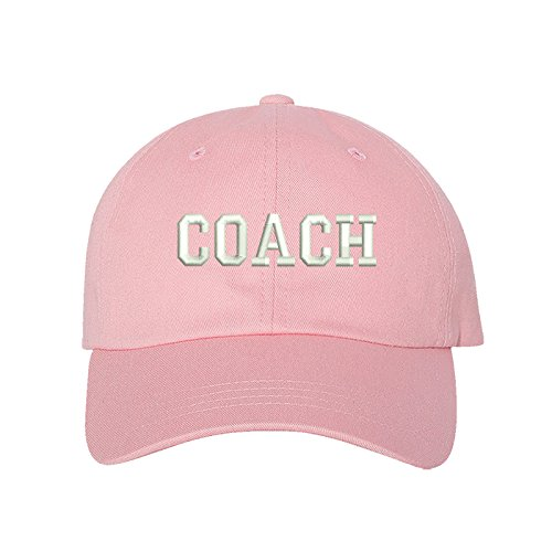 - Prfcto Lifestyle Coach Dad Hat - Sports Coach Trainer Pink Baseball Hat - Unisex