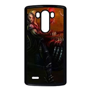 League Of Legends Vandal Vladimir Funda LG G3 Funda caja del teléfono celular Negro G6V8JH Phone Case Protective Personalized