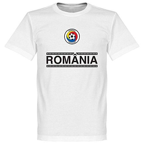 La Romania Maglietta a maniche corte della squadra, colore: bianco