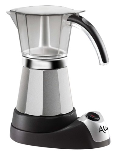 Delonghi EMK6 Alicia Electric Moka Espresso Coffee ()