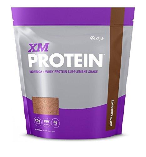 Zija XMprotein - Dutch Chocolate or Vanilla Bean (2lb 5oz) | Replaces Zija Pr1me 90 Shake Mix (Dutch Chocolate) by Zija International
