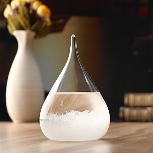 Passion Connected Weather Forecast Crystal Storm Glass Home Decor