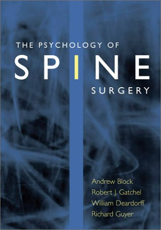 The Psychology of Spine Surgery by Brand: American Psychological Association (APA)