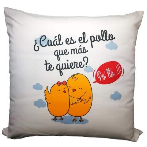 COJIN Frase CUAL ES EL Pollo Que MAS TE Quiere PO-LLO ...