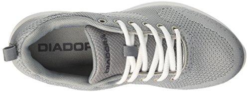 Diadora X Run Light W, Zapatillas de Running Para Mujer Gris (Grigio Ghiaccio/nero)