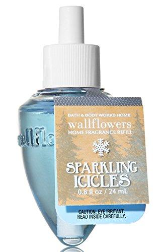 Blue Bulb Icicle - Bath & Body Works Wallflowers Fragrance Refill Bulb Sparkling Icicles