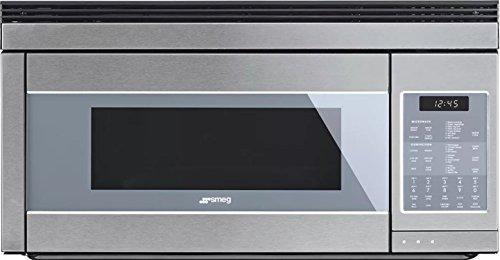 Smeg 30'' Linea Design Over-the-Range Microwave, Stainle