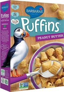 Barbara's Bakery, Puffins Cereal, Peanut Butter, 11 oz (312 ()