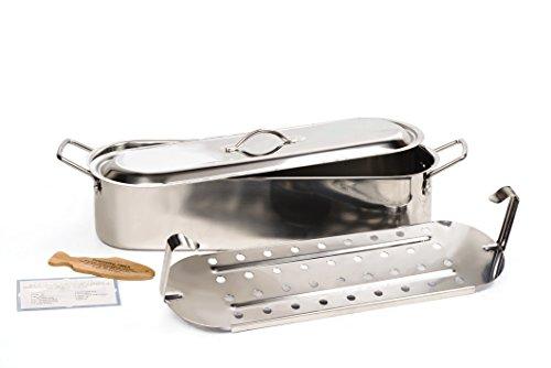RSVP International Endurance Stainless Steel 18-Inch Fish Poacher (ST-18P) ()