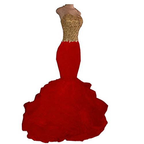 issa red long dress - 4