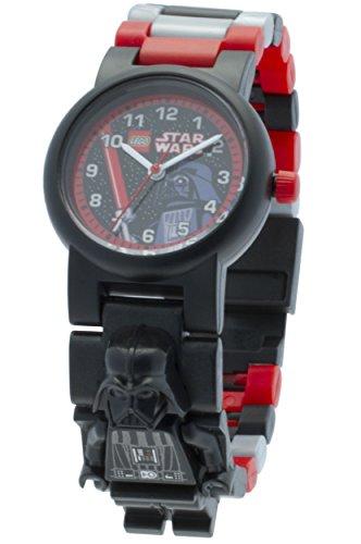 LEGO Kids' 8020417 Star Wars Darth Vader Minifigure Link Watch