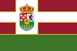 magFlags Large Flag Villares de Orbigo | A bandera tendrá forma rectangular siguiendo la tradición leonesa | landscape flag | 1.35m² | 14.5sqft | 90x150cm | 3x5ft - 100% Made i