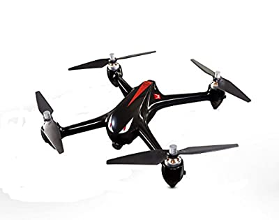 Aerial Photography Drone ,Kingspinner MJX Bugs 2 B2W Monster With 5GHz WiFi FPV 1080P Camera GPS Brushless Quadcopter Flight Time Around 15-18 Minutes Smooth Shots- Black from Kingspinner