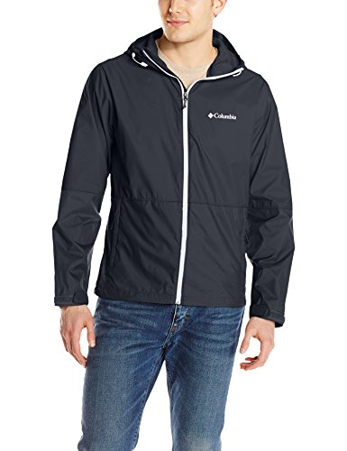 Columbia Men's Roan Mountain Jacket, Black/White, X-Large