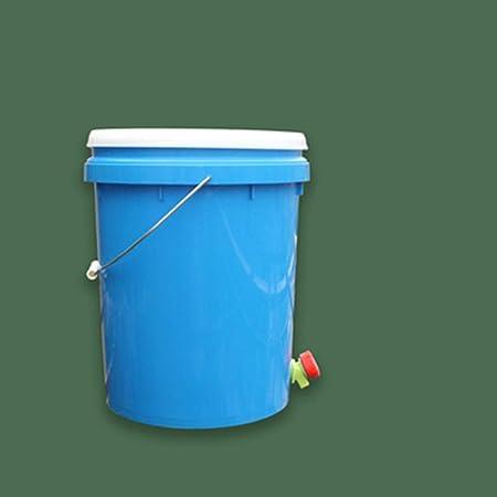 XMGJ 20L Compost Papelera de Reciclaje compostador orgánico Hecho en casa Bote de Basura del Cubo del jardín de Cocina Alimentación Papeleras (Color : D): Amazon.es: Hogar