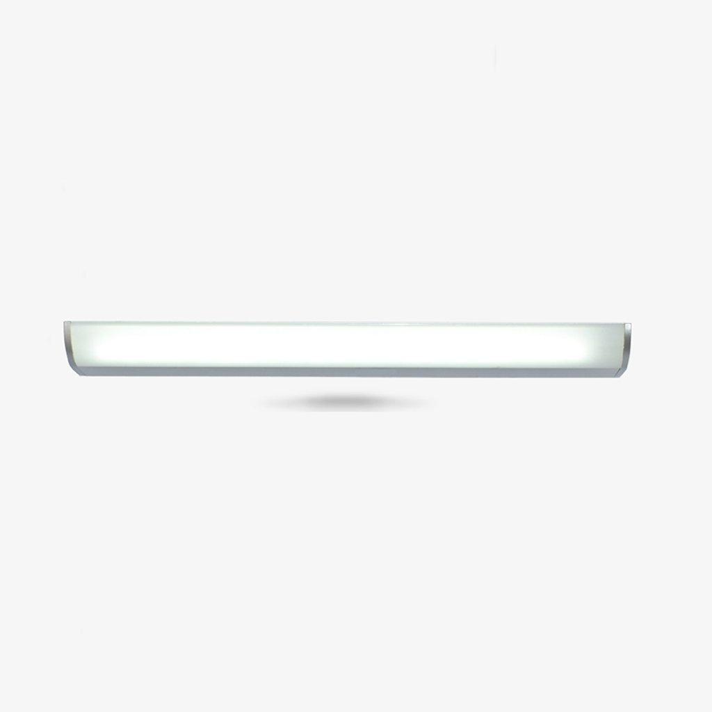 & Spiegellampen LED-Spiegel-Licht, Badezimmer-Toilette, Badezimmer-Spiegel-Lampe, Schreibtisch-Kamm, Verfassungs-Wand-Lampe, Aluminiumlegierung Badezimmerbeleuchtung (Farbe   Warmes Licht-10E 57CM)