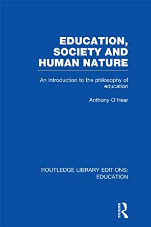 an introduction to the human experience of education The human capital theory in education: principles, critiques and current thinking.