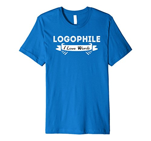 Logophile, I Love Words T-Shirt