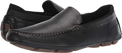 ALDO Men's Gerland Black Leather 42 D EU ()