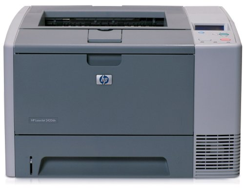 HP LaserJet 2420dn Monochrome Printer by HP