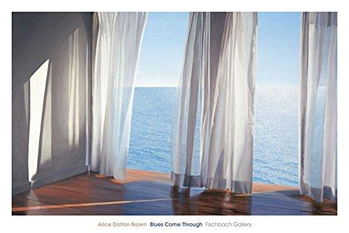 Blues Come Through Art Print ists Art Poster Print by Alice Dalton Brown, 60x40 (Art Brown Alice Dalton)