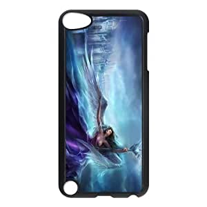 FOR Ipod Touch 5 -(DXJ PHONE CASE)-Angels in The Sky-PATTERN 9