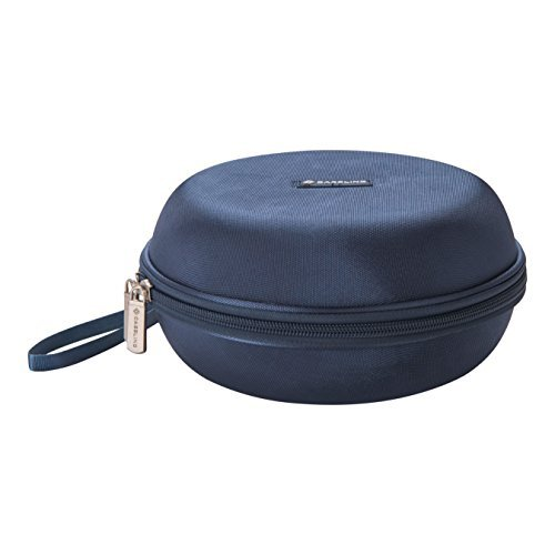 Caseling Hard Headphone Case Travel Bag for Sony, Audio-technica, Panasonic, Xo Vision, Behringer, Maxell, Bose, Photive, Philips, Beats and More. Blue