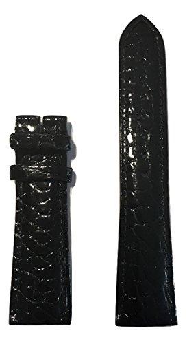 Movado Black Alligator Leather Band Strap for Movado Men's Red Label Watch Models: 0607007, 0606112 -  MOV-569402196
