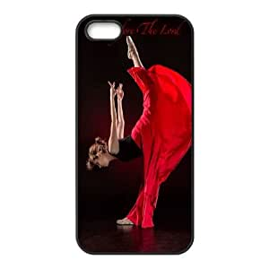 Flamenco Dancer iPhone 5 5s Cell Phone Case Black UD1379772