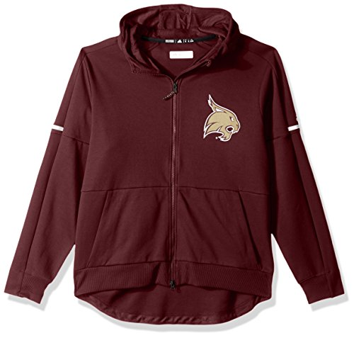 Outerstuff NCAA Texas State Bobcats Men's Sideline Squad ID Jacket, X-Large, Maroon
