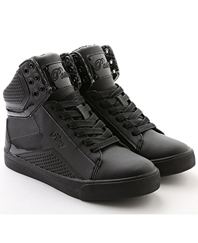 pastry-pop-tart-grid-dance-shoe-adult-55-black-black