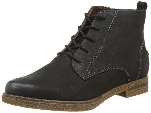 Damen Black Chukka 25260 Boots 001 Schwarz Tamaris 6HOqdBn6