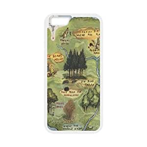 "Cute Bear Winnie the Pooh Hard Plastic phone Case Cove For Apple Iphone6/Plus5.5"" screen Cases JWH9148482"